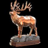 Rocky mountain elk bronze
