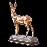 Roe deer bronze