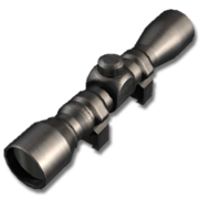 2-6x20mm Handgun Scope (Black)