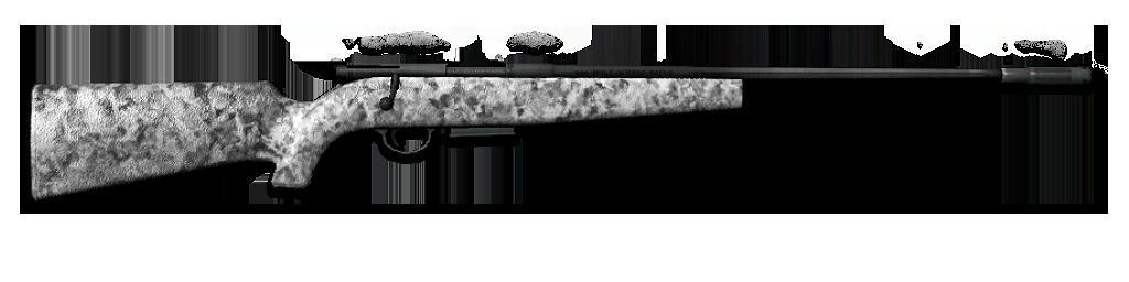 .300 Bolt Action Rifle (Carbon)