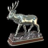 Sambar deer silver
