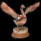 Canada goose bronze