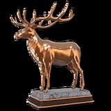 Roosevelt elk bronze