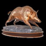 Wild boar bronze
