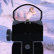 Scope handgun red dot 1