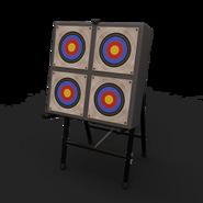 Deployable target archery 4eyes