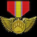 Bird medal gold