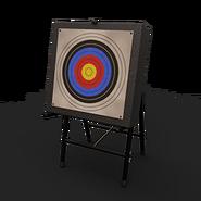 Deployable target archery 1eye
