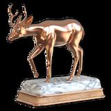 Sitka deer bronze