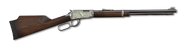 17 hmr lever action rifle engraved