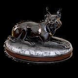 Eurasian lynx hematite