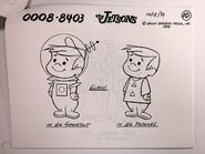 The Jetsons - Animation Model Cel - Elroy Meets Orbitty (3)