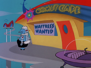 The Jetsons Comet Cafe