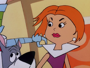 Jane Jetson angry wet hair