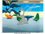 The Jetsons - Animation Cel and Background - Elroy Meets Orbitty (4)