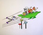 The Jetsons - Animation Cel and Background - Elroy Meets Orbitty (8)