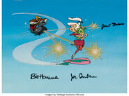 Judy Jetson and Commander Comsat