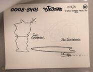The Jetsons - Animation Model Cel - Elroy Meets Orbitty (10)