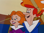 Happy George and Jane Jetson