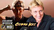 William Zabka COBRA KAI Exclusive Season 2 & 3 Interview at Comic-Con!
