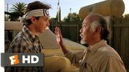Wax On, Wax Off - The Karate Kid (2 8) Movie CLIP (1984) HD