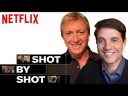 Cobra Kai Daniel, Johnny & Ali Reunion Scene - Shot By Shot - Netflix