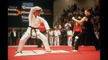 Karate Kid III - Daniel prepares to perform Kata