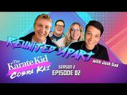 The Karate Kid x Cobra Kai - Reunited Apart with Josh Gad - Netflix