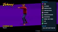 Johnny (Cobra Kai Video Game)