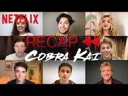 Get Ready for Cobra Kai Season 3! Official Cast Recap of Season 1 & 2 - Netflix