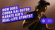 How Does Cobra Kai Outdo Karate Kid's Real-Life Stunts - Comic Con 2019