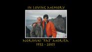 Cobra Kai Pat Morita tribute