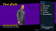 Tom Cole (Cobra Kai Video Game)