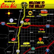 Cobra Kai Valley Map Promo