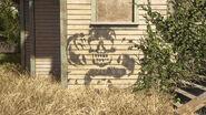 Santa Barbara Constance Ave Rattler graffiti 1