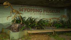 Velociraptors lobby