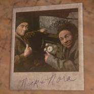 Nick and Nora polaroid
