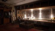 Pinnacle Theater dressing room