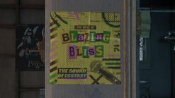 Ellies house - Blazing Bliss poster