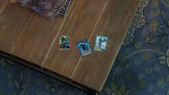 Ellies house - trading cards