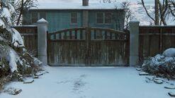 Joels house back gate