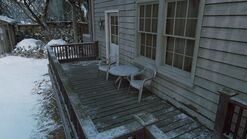 Joels house back porch