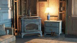 Ellies house - wood burner