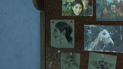 Ellies house - Dina sketch