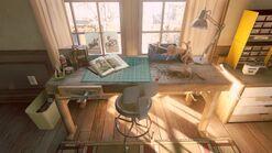 Joels house studio workbench
