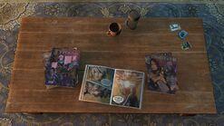 Ellies house - coffee table comics