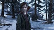 Ellie en hiver