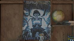 Ellies house - Savage Starlight poster