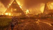 Seraphite Island Haven burning 1