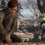 Ellie at Joel's grave.jpg